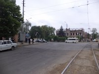 Тумба №149402 в городе Днепр (Днепропетровская область), размещение наружной рекламы, IDMedia-аренда по самым низким ценам!
