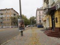 Тумба №149415 в городе Днепр (Днепропетровская область), размещение наружной рекламы, IDMedia-аренда по самым низким ценам!