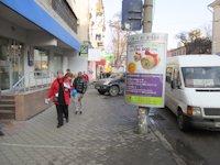 Тумба №149418 в городе Днепр (Днепропетровская область), размещение наружной рекламы, IDMedia-аренда по самым низким ценам!