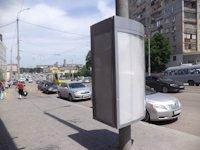 Тумба №149419 в городе Днепр (Днепропетровская область), размещение наружной рекламы, IDMedia-аренда по самым низким ценам!