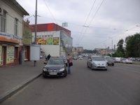 Тумба №149420 в городе Днепр (Днепропетровская область), размещение наружной рекламы, IDMedia-аренда по самым низким ценам!
