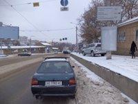 Тумба №149422 в городе Днепр (Днепропетровская область), размещение наружной рекламы, IDMedia-аренда по самым низким ценам!