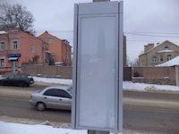 Тумба №149424 в городе Днепр (Днепропетровская область), размещение наружной рекламы, IDMedia-аренда по самым низким ценам!