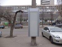Тумба №149430 в городе Днепр (Днепропетровская область), размещение наружной рекламы, IDMedia-аренда по самым низким ценам!