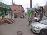 Тумба №149431 в городе Днепр (Днепропетровская область), размещение наружной рекламы, IDMedia-аренда по самым низким ценам!