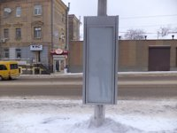 Тумба №149433 в городе Днепр (Днепропетровская область), размещение наружной рекламы, IDMedia-аренда по самым низким ценам!