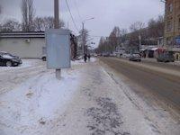Тумба №149434 в городе Днепр (Днепропетровская область), размещение наружной рекламы, IDMedia-аренда по самым низким ценам!