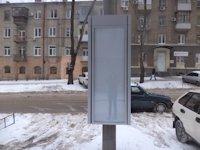 Тумба №149435 в городе Днепр (Днепропетровская область), размещение наружной рекламы, IDMedia-аренда по самым низким ценам!