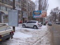 Тумба №149436 в городе Днепр (Днепропетровская область), размещение наружной рекламы, IDMedia-аренда по самым низким ценам!