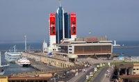 Брандмауэр №149634 в городе Одесса (Одесская область), размещение наружной рекламы, IDMedia-аренда по самым низким ценам!
