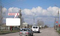 Билборд №150738 в городе Скадовск (Херсонская область), размещение наружной рекламы, IDMedia-аренда по самым низким ценам!