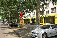 Ситилайт №152920 в городе Одесса (Одесская область), размещение наружной рекламы, IDMedia-аренда по самым низким ценам!