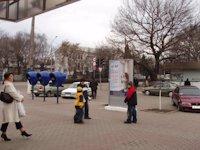 Ситилайт №153635 в городе Павлоград (Днепропетровская область), размещение наружной рекламы, IDMedia-аренда по самым низким ценам!