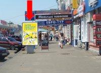 Ситилайт №153764 в городе Полтава (Полтавская область), размещение наружной рекламы, IDMedia-аренда по самым низким ценам!