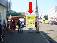 Ситилайт №153768 в городе Полтава (Полтавская область), размещение наружной рекламы, IDMedia-аренда по самым низким ценам!