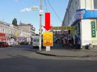 Ситилайт №153769 в городе Полтава (Полтавская область), размещение наружной рекламы, IDMedia-аренда по самым низким ценам!