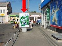 Ситилайт №153770 в городе Полтава (Полтавская область), размещение наружной рекламы, IDMedia-аренда по самым низким ценам!