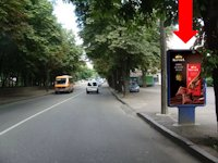 Ситилайт №153844 в городе Ровно (Ровенская область), размещение наружной рекламы, IDMedia-аренда по самым низким ценам!