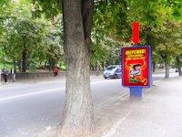 Ситилайт №153846 в городе Ровно (Ровенская область), размещение наружной рекламы, IDMedia-аренда по самым низким ценам!