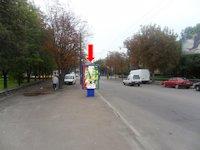 Ситилайт №153879 в городе Ровно (Ровенская область), размещение наружной рекламы, IDMedia-аренда по самым низким ценам!