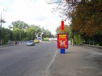 Ситилайт №153880 в городе Ровно (Ровенская область), размещение наружной рекламы, IDMedia-аренда по самым низким ценам!