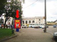 Ситилайт №153881 в городе Ровно (Ровенская область), размещение наружной рекламы, IDMedia-аренда по самым низким ценам!