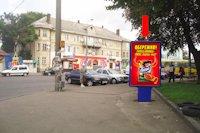 Ситилайт №153882 в городе Ровно (Ровенская область), размещение наружной рекламы, IDMedia-аренда по самым низким ценам!