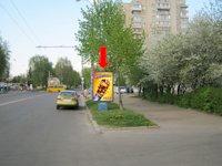 Ситилайт №153884 в городе Ровно (Ровенская область), размещение наружной рекламы, IDMedia-аренда по самым низким ценам!