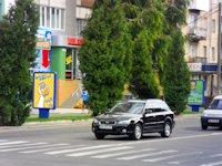 Ситилайт №153887 в городе Ровно (Ровенская область), размещение наружной рекламы, IDMedia-аренда по самым низким ценам!