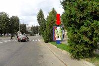 Ситилайт №153888 в городе Ровно (Ровенская область), размещение наружной рекламы, IDMedia-аренда по самым низким ценам!