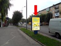 Ситилайт №153889 в городе Ровно (Ровенская область), размещение наружной рекламы, IDMedia-аренда по самым низким ценам!