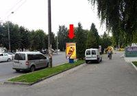Ситилайт №153890 в городе Ровно (Ровенская область), размещение наружной рекламы, IDMedia-аренда по самым низким ценам!
