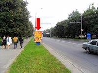 Ситилайт №153907 в городе Ровно (Ровенская область), размещение наружной рекламы, IDMedia-аренда по самым низким ценам!