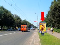 Ситилайт №153908 в городе Ровно (Ровенская область), размещение наружной рекламы, IDMedia-аренда по самым низким ценам!