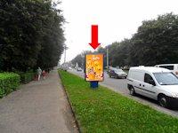 Ситилайт №153909 в городе Ровно (Ровенская область), размещение наружной рекламы, IDMedia-аренда по самым низким ценам!