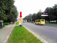 Ситилайт №153913 в городе Ровно (Ровенская область), размещение наружной рекламы, IDMedia-аренда по самым низким ценам!