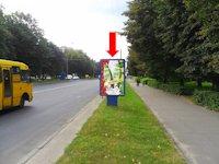 Ситилайт №153916 в городе Ровно (Ровенская область), размещение наружной рекламы, IDMedia-аренда по самым низким ценам!