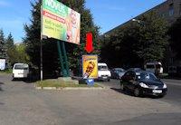 Ситилайт №153917 в городе Ровно (Ровенская область), размещение наружной рекламы, IDMedia-аренда по самым низким ценам!