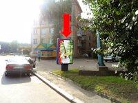 Ситилайт №153918 в городе Ровно (Ровенская область), размещение наружной рекламы, IDMedia-аренда по самым низким ценам!