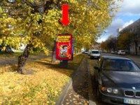 Ситилайт №153919 в городе Ровно (Ровенская область), размещение наружной рекламы, IDMedia-аренда по самым низким ценам!