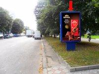 Ситилайт №153922 в городе Ровно (Ровенская область), размещение наружной рекламы, IDMedia-аренда по самым низким ценам!