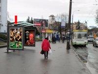 Ситилайт №153929 в городе Ровно (Ровенская область), размещение наружной рекламы, IDMedia-аренда по самым низким ценам!