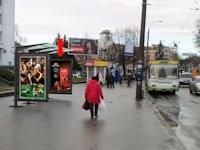 Ситилайт №153930 в городе Ровно (Ровенская область), размещение наружной рекламы, IDMedia-аренда по самым низким ценам!
