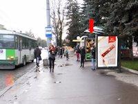Ситилайт №153932 в городе Ровно (Ровенская область), размещение наружной рекламы, IDMedia-аренда по самым низким ценам!