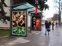 Ситилайт №153934 в городе Ровно (Ровенская область), размещение наружной рекламы, IDMedia-аренда по самым низким ценам!