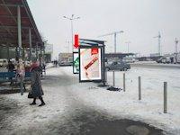 Ситилайт №153945 в городе Ровно (Ровенская область), размещение наружной рекламы, IDMedia-аренда по самым низким ценам!