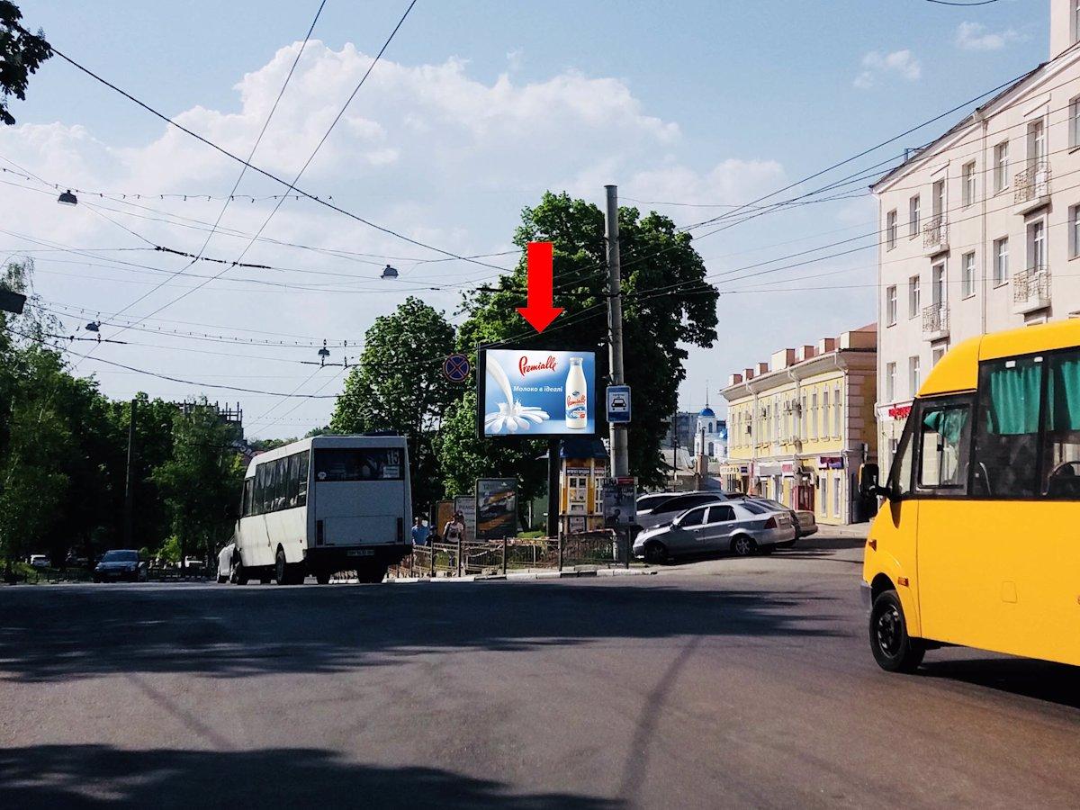 Скролл №154258 в городе Сумы (Сумская область), размещение наружной рекламы, IDMedia-аренда по самым низким ценам!