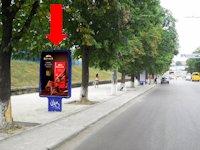 Ситилайт №154265 в городе Сумы (Сумская область), размещение наружной рекламы, IDMedia-аренда по самым низким ценам!
