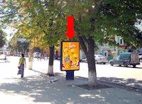 Ситилайт №154269 в городе Сумы (Сумская область), размещение наружной рекламы, IDMedia-аренда по самым низким ценам!