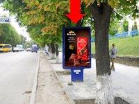 Ситилайт №154270 в городе Сумы (Сумская область), размещение наружной рекламы, IDMedia-аренда по самым низким ценам!